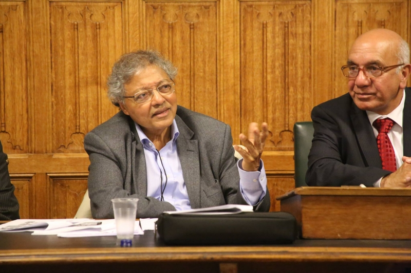 Mihir-Bose-Virendra-Sharma-MP-at-the-Houses-of-Parliament-1