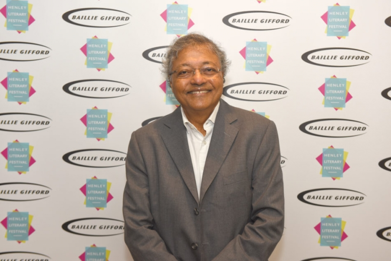 Mihir at the 2017 Henley Literary Festival