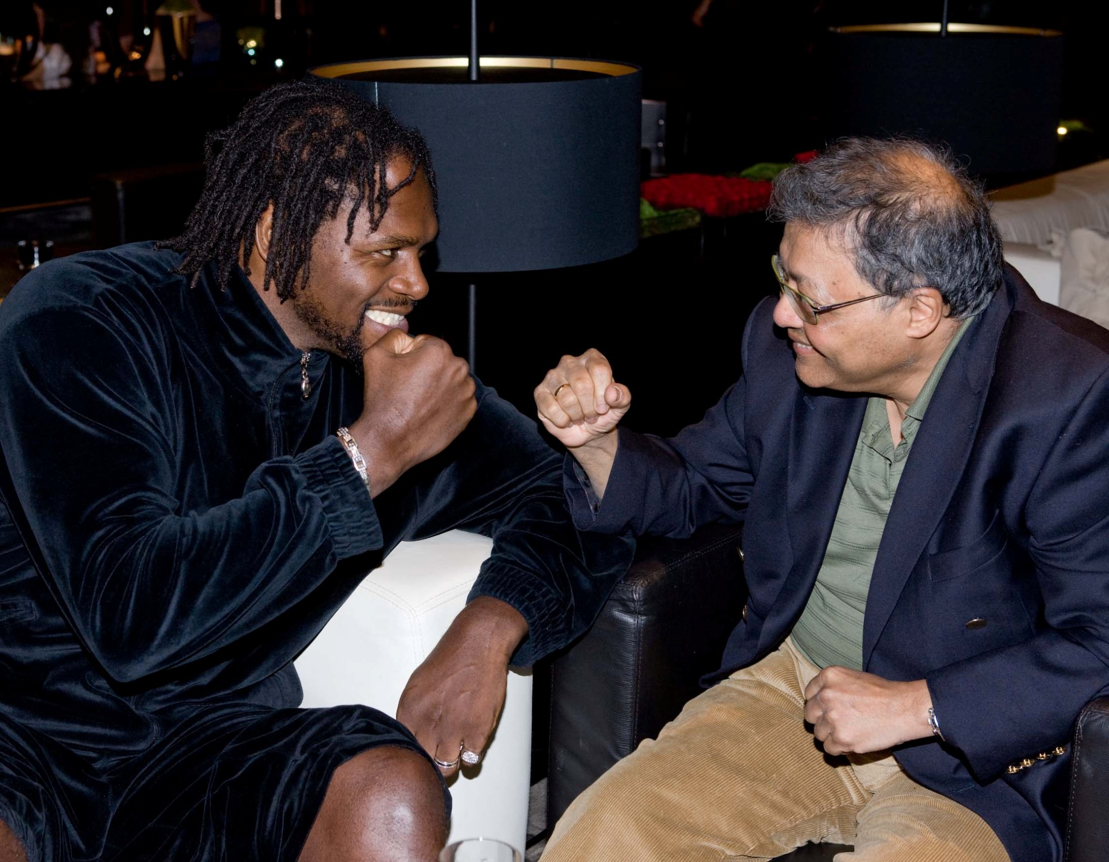 Mihir and Audley Harrison