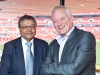 Mihir and Barry Hearn