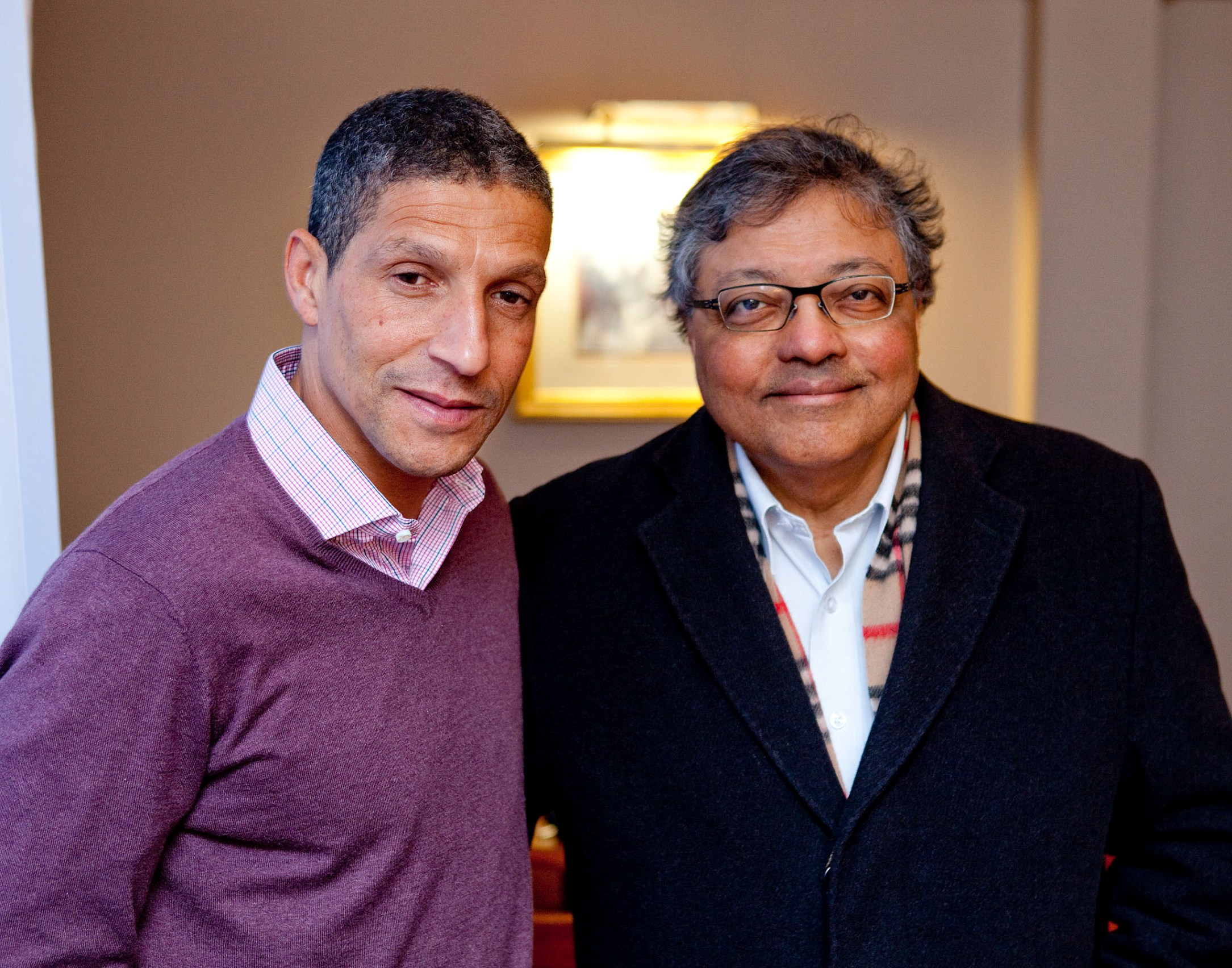 Mihir and Chris Houghton