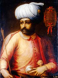 Ottoman ruler Sultan Suleyman. Picture coutesy of Mail Online