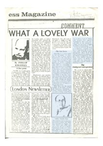 The Lost Hero review - Indian Express Magazine 1982