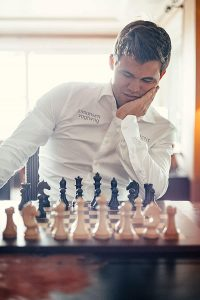 Magnus Carlsen Photo courtesy of Financial Times