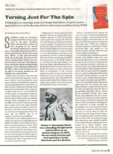 The Indian Spy- Outlook (Magazine) 8 May 2017